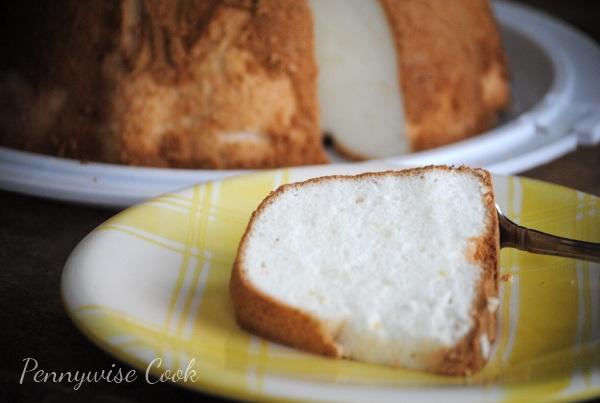 How to make an angel food cake