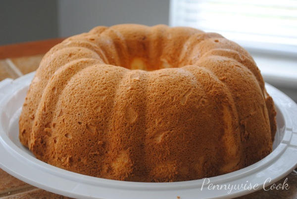 Angel Food Cake 2 Heavenly Orange Angel Food Cake
