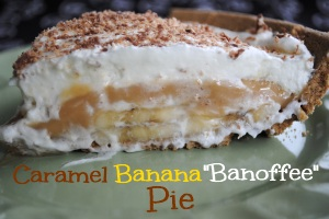 Caramel Banana Pie Desserts