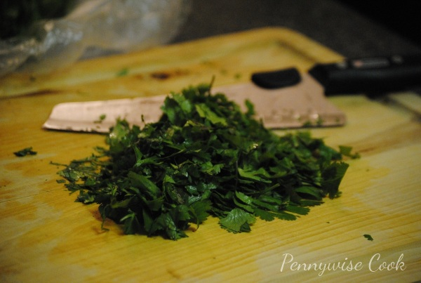 Cilantro 21 Frugal Kitchen Tip: Freezing Fresh Herbs