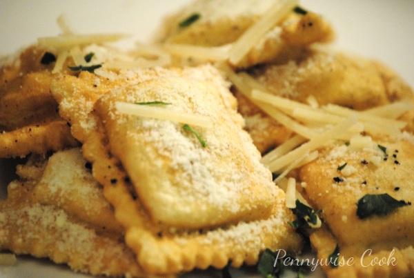 Ravioli 1 Easy Fried (Yes Fried!) Ravioli