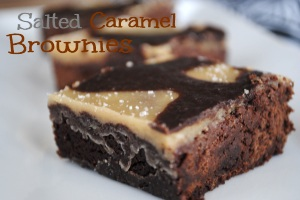 Salted Caramel Brownies Desserts