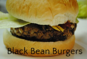 Black Bean Burgers Main Dishes