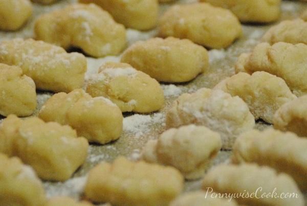 Homemade Gnocchi 2 Homemade Instant Potato Gnocchi