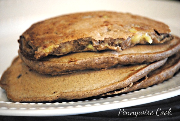 Pancakes Whole Wheat Peanut Butter and Banana Pancakes
