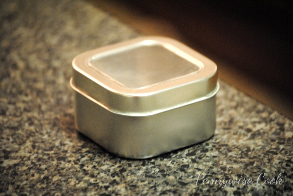 Spice Tin Magnetic Spice Rack DIY