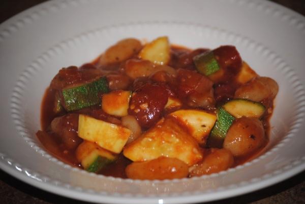Zesty Squash and Zucchini Zesty Squash and Zucchini Over Gnocchi