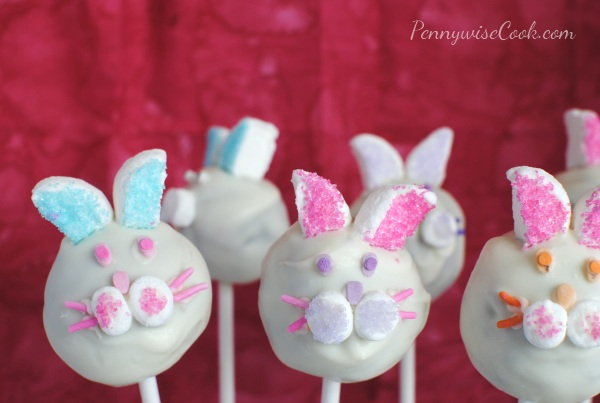 Bunny Brownie Pops 1 Bunny Brownie Pops