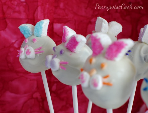 Bunny Brownie Pops 6 Bunny Brownie Pops