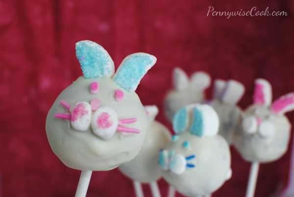 Bunny Brownie Pops Bunny Brownie Pops