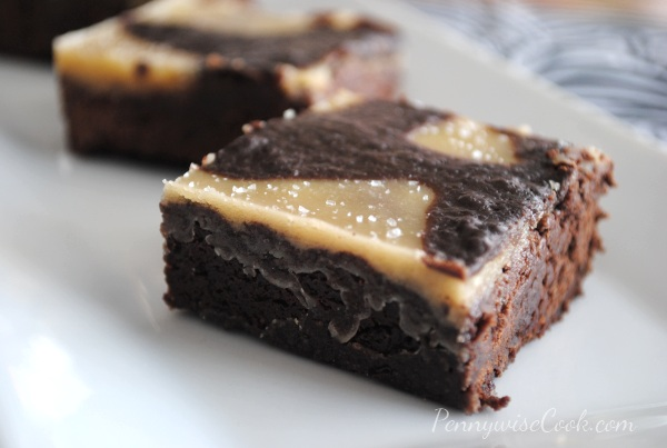Salted Caramel Brownies 3 Incredible Salted Caramel Brownies