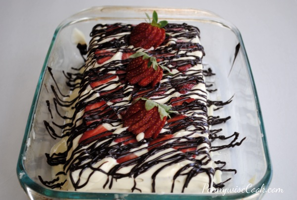 Strawberry Icebox Cake 3 No Bake Strawberry Icebox Cake