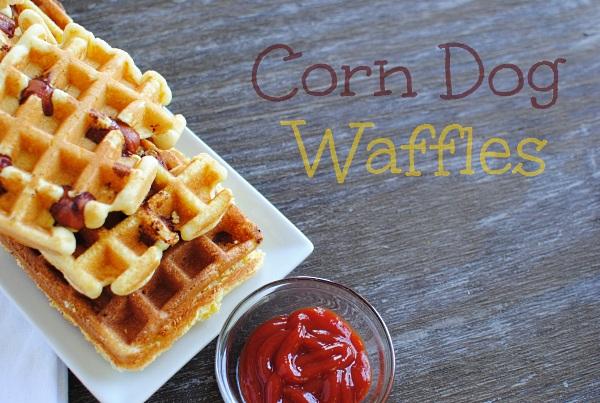 Corn Dog Waffles 11 Corn Dog Waffles