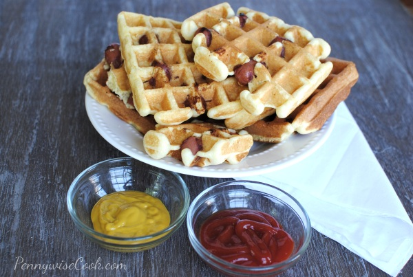 Corn Dog Waffles 3 Corn Dog Waffles