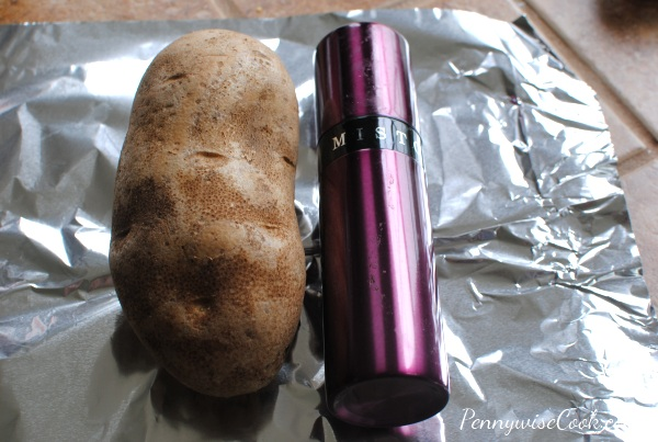 Crockpot Baked Potatoes 1 Crockpot Baked Potatoes