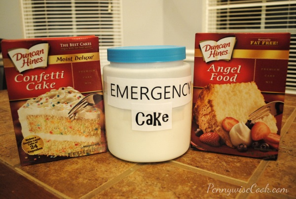 Emergency Cake 2 1 Minute Emergency Cake