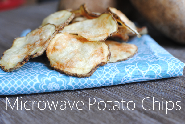 Microwave Potato Chips 3 Easy Microwave Potato Chips