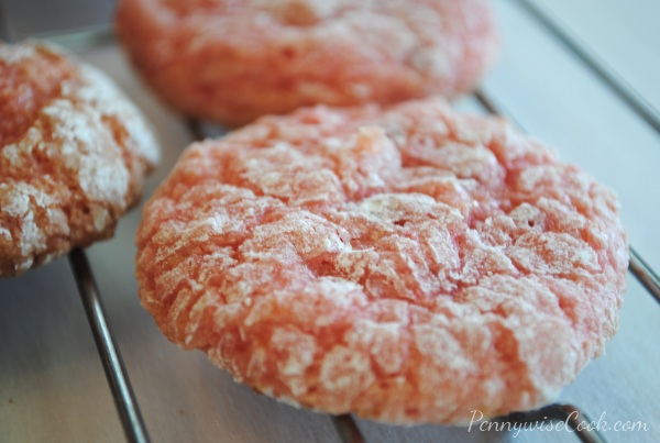 Strawberry Cake Mix Cookies 2 Strawberry Cake Mix Cookies