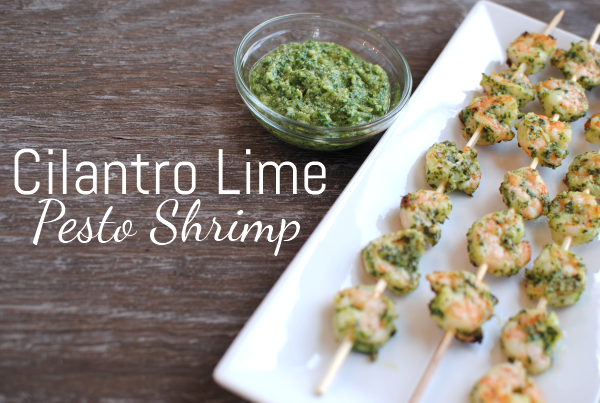 Cilantro Lime Pesto Shrimp 2 Cilantro Lime Pesto Shrimp