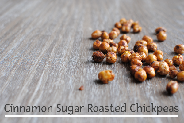Cinnamon Sugar Roasted Chickpeas Cinnamon Sugar Roasted Chickpeas