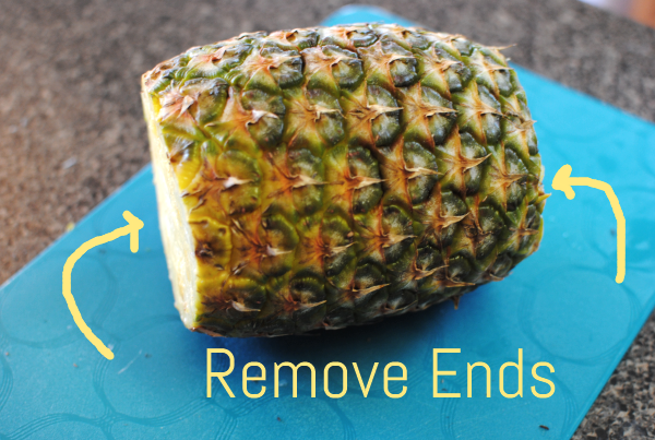 How to Cut a Pineapple 2 Hot to Cut a Pineapple