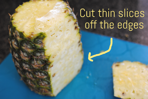 How to Cut a Pineapple 3 Hot to Cut a Pineapple