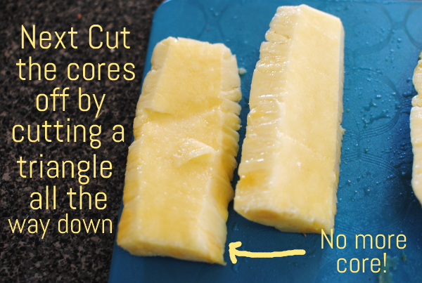 How to Cut a Pineapple 7 Hot to Cut a Pineapple