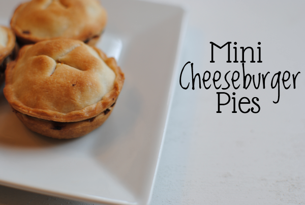 Mini Cheeseburger Pies 1 Mini Cheeseburger Pies