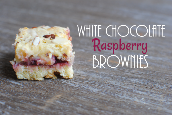 White Chocolate Raspberry Brownies White Chocolate Raspberry Brownies