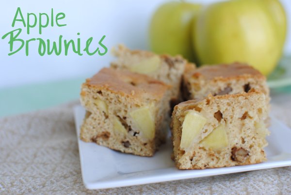 Apple Brownies 2 Apple Brownies