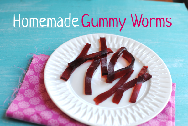 Homemade Gummy Worms 1 Homemade Gummy Worms