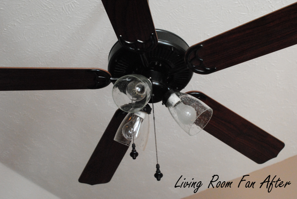 Living Room Fan After This Makeover Has Hit the Fan {Before & After}