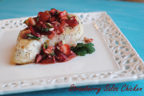 Strawberry Salsa Chicken 2 Strawberry Salsa Chicken