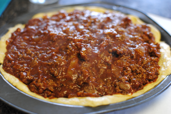 Taco Pie 4 Simple Taco Pie