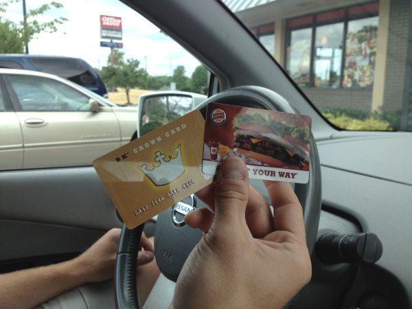 Burger King Giftcards A Day of Random Acts of Kindness