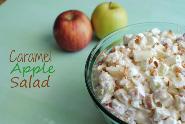 Caramel Apple Salad 1 Caramel Apple Salad