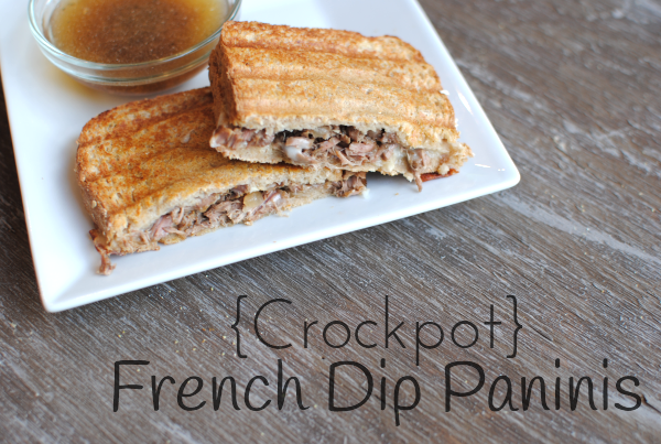 Crockpot French Dip Paninis 3 Crockpot French Dip Paninis