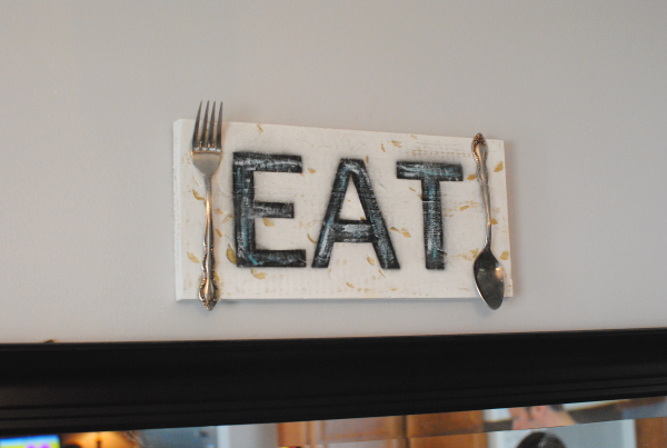DIY Eat Sign 2 DIY Wooden Eat Sign