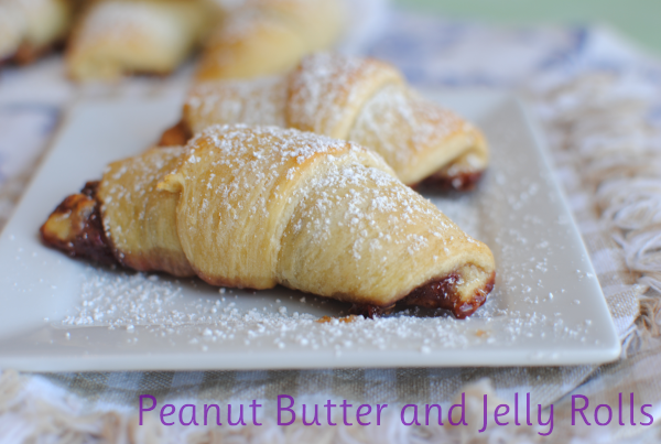 Peanut Butter and Jelly Rolls 5 Peanut Butter and Jelly Rolls