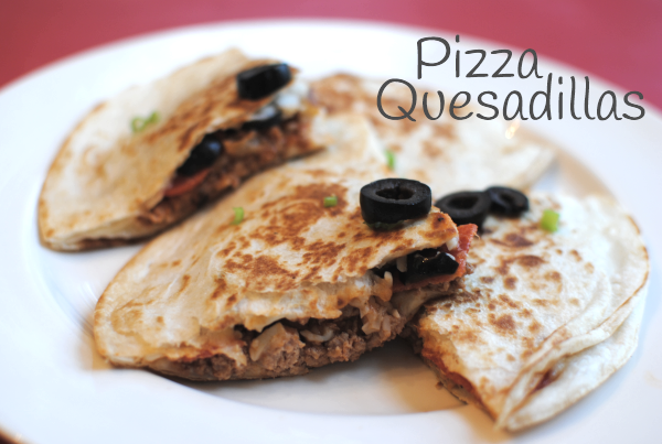 Pizza Quesadillas 21 Pizza Quesadillas