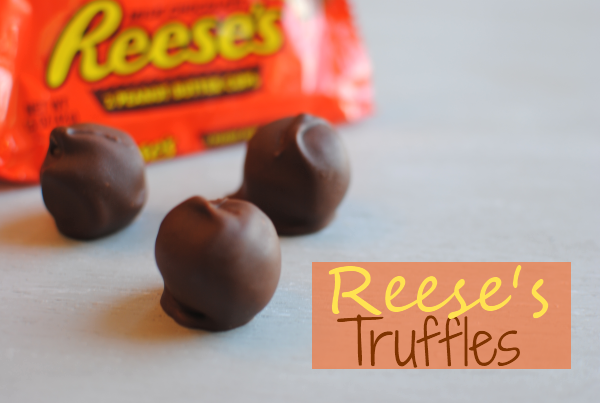 Reeses Truffles 1 Pennywise Cook 3 Ingredient Reeses Truffles