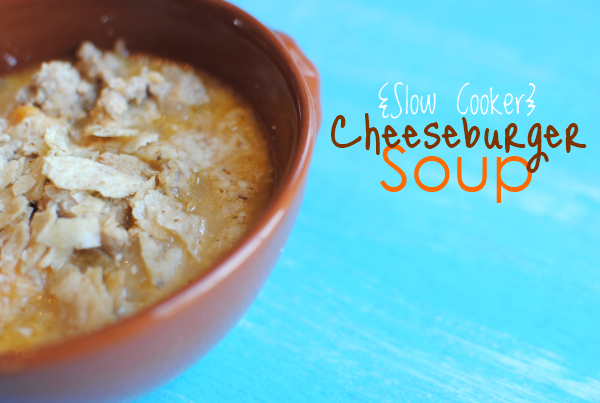 Cheeseburger Soup 1 Slow Cooker Cheeseburger Soup