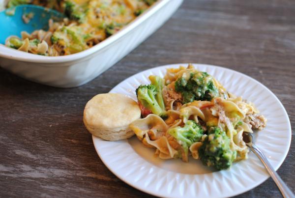 Cheesey Broccoli Tuna Casserole 1 Cheesy Broccoli Tuna Casserole