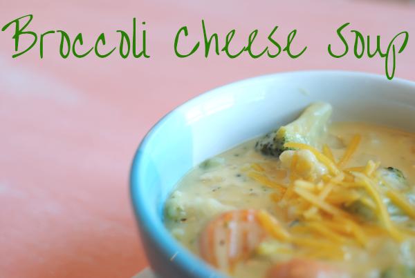 Broccoli Cheese Soup 2 Broccoli Cheese Soup