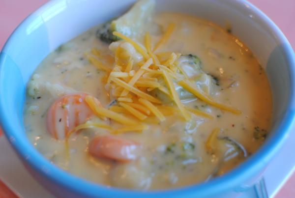 Broccoli Cheese Soup 4 Broccoli Cheese Soup