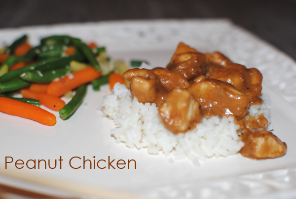 Peanut Chicken Easy Peanut Chicken