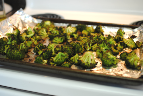 Roasted Broccoli 2 Easy Roasted Broccoli