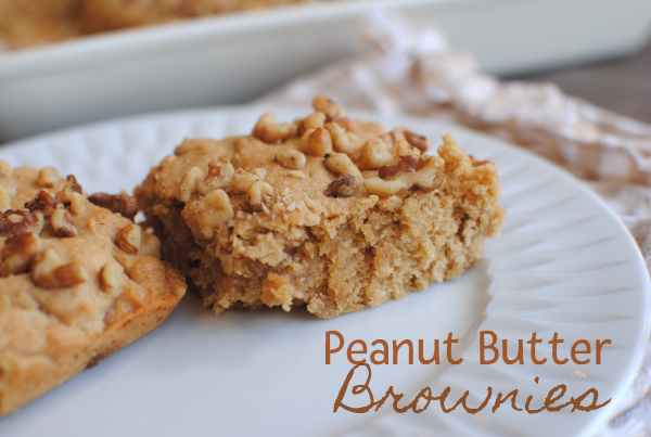 Peanut Butter Brownies 4 Peanut Butter Brownies