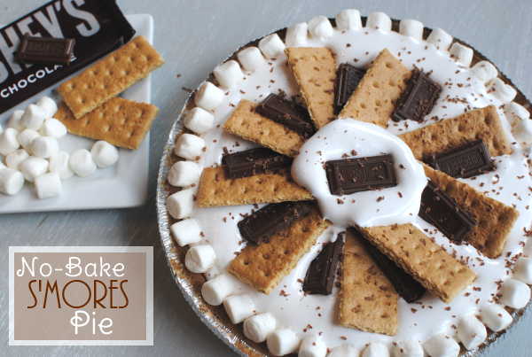 Simple Smores Pie 12 No Bake Smores Pie