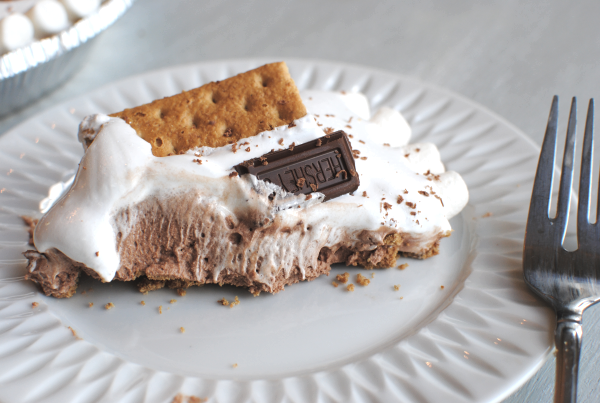 Simple Smores Pie 31 No Bake Smores Pie